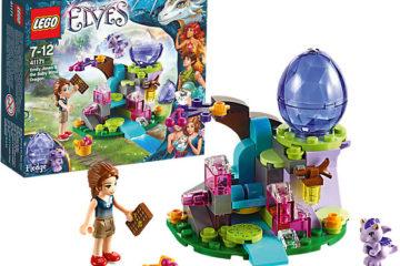 LEGO Elves Emily Jones & das Winddrachen-Baby